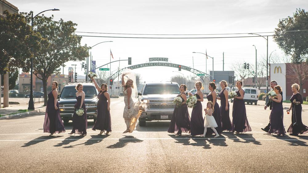 modesto arch wedding