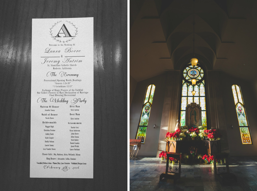 st. stanislaus catholic church wedding modesto