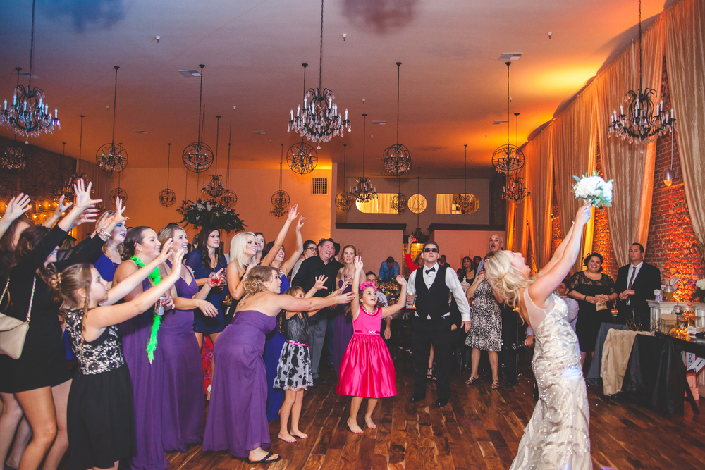 the century bouquet toss