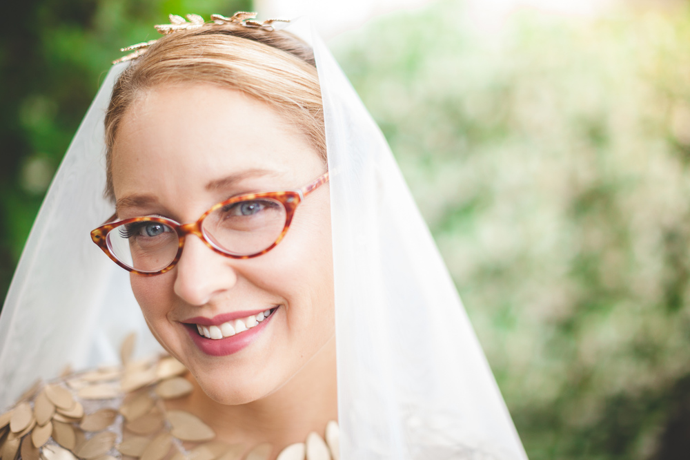 cool vintage bride