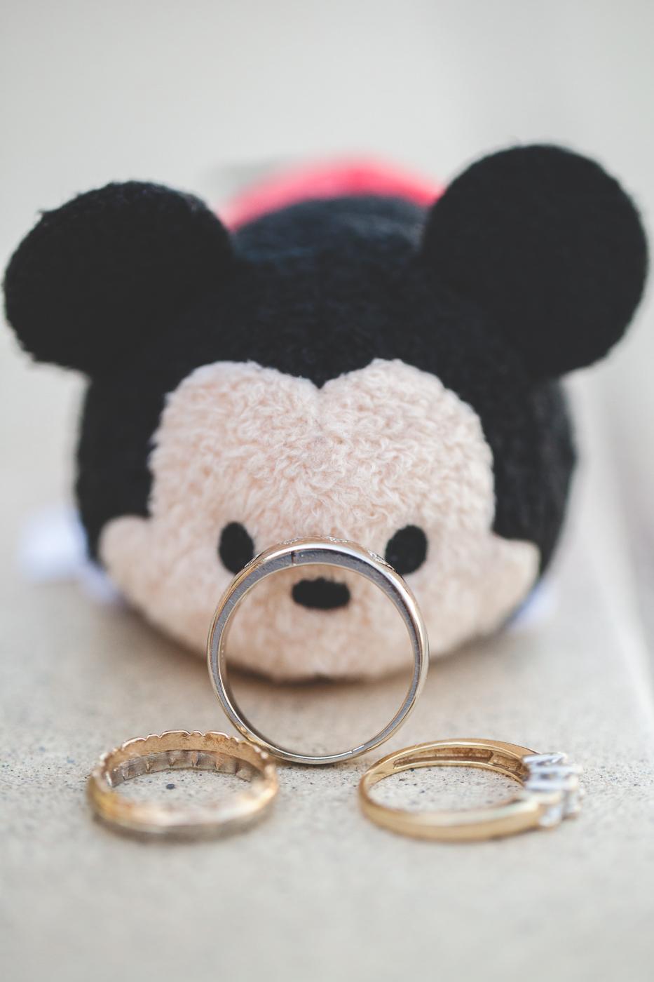 tsum tsum disney wedding rings