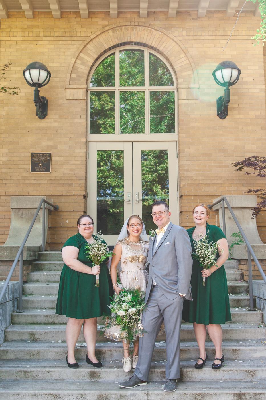 carnegie museum wedding turlock