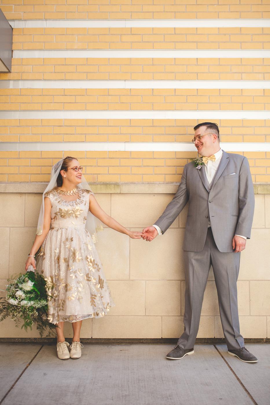 quirky modesto wedding