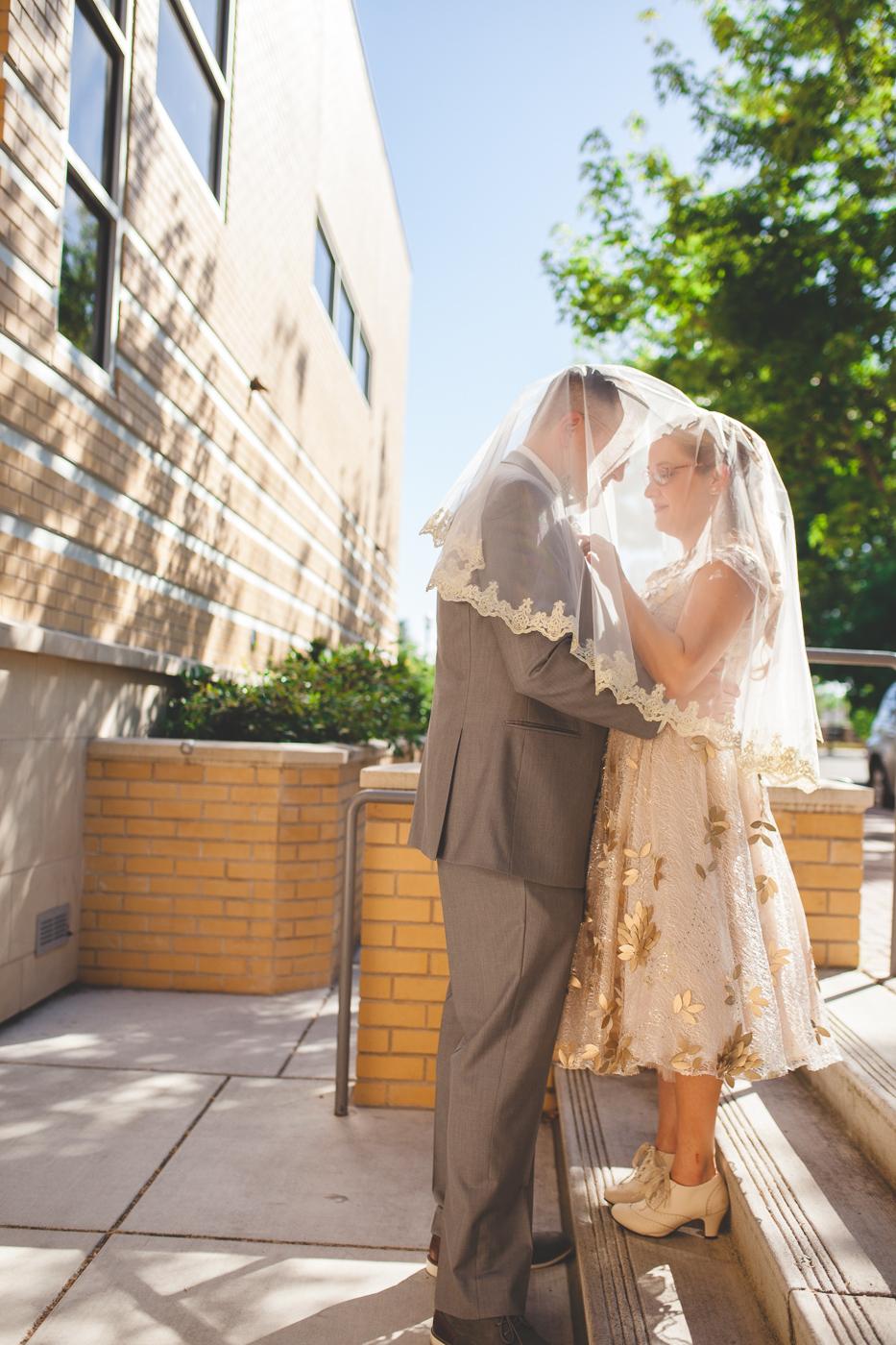 tol and smol wedding