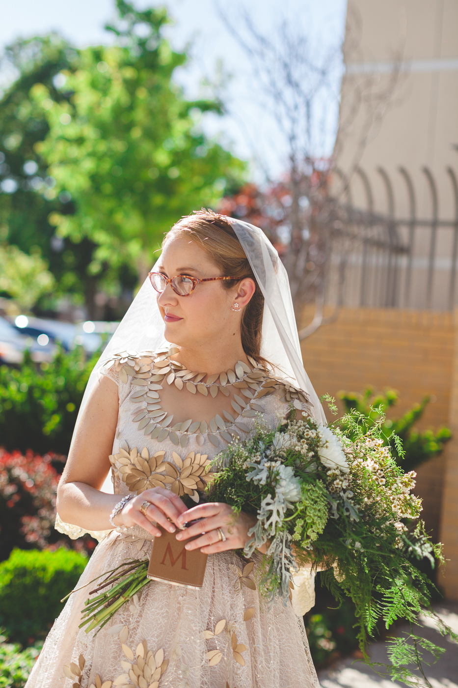 bride stink face