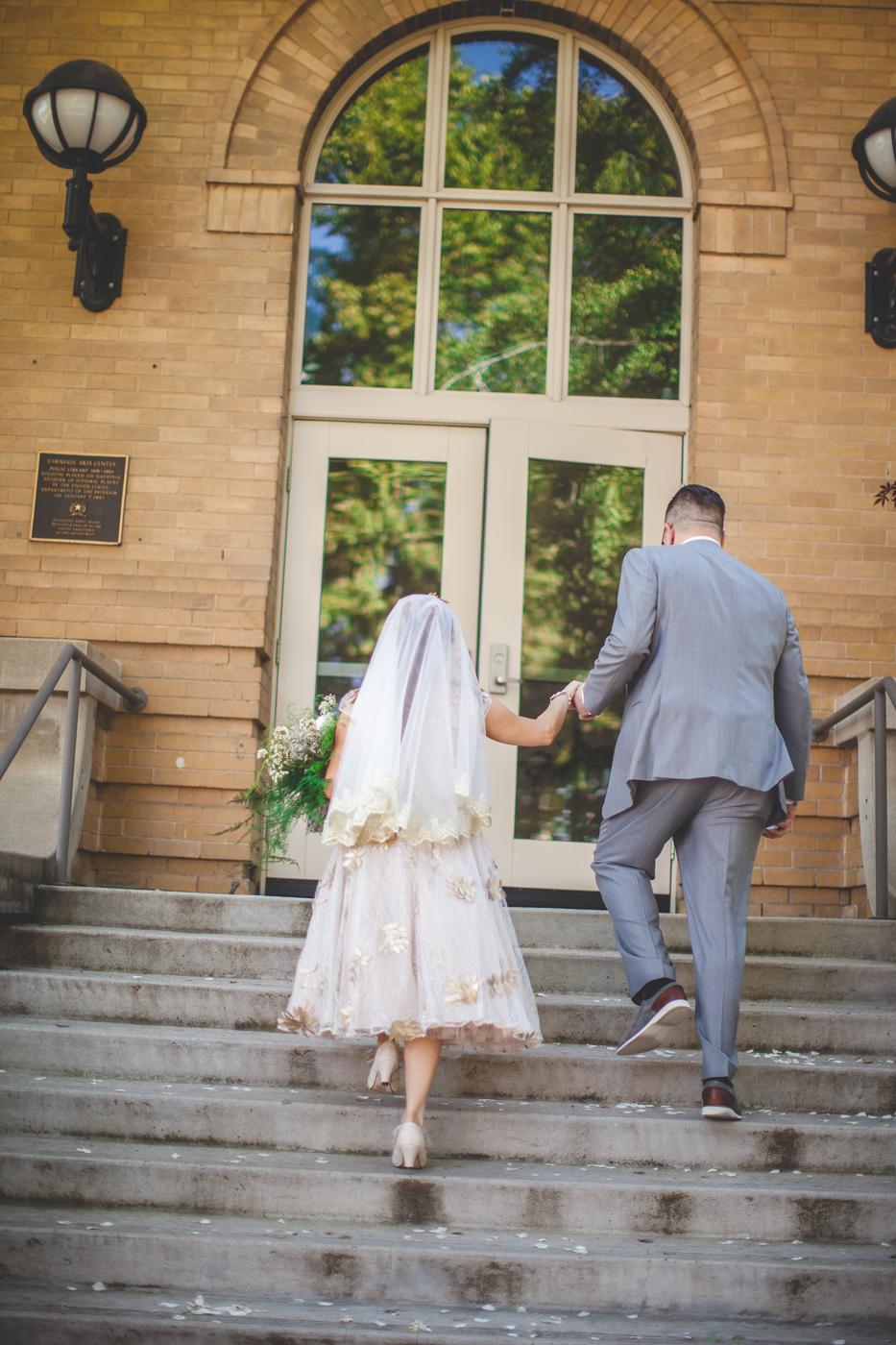 retro style wedding turlock