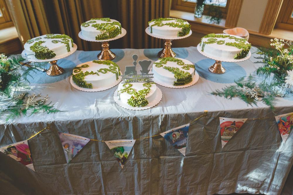up disney cake table wedding