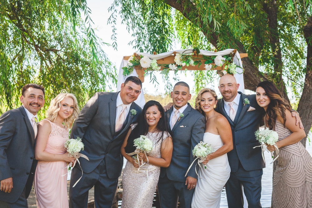 modesto wedding party casual