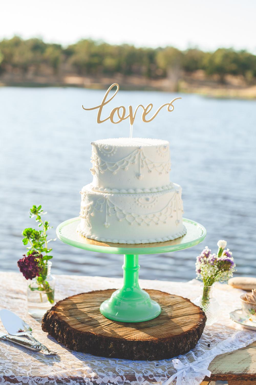 lake wedding central california