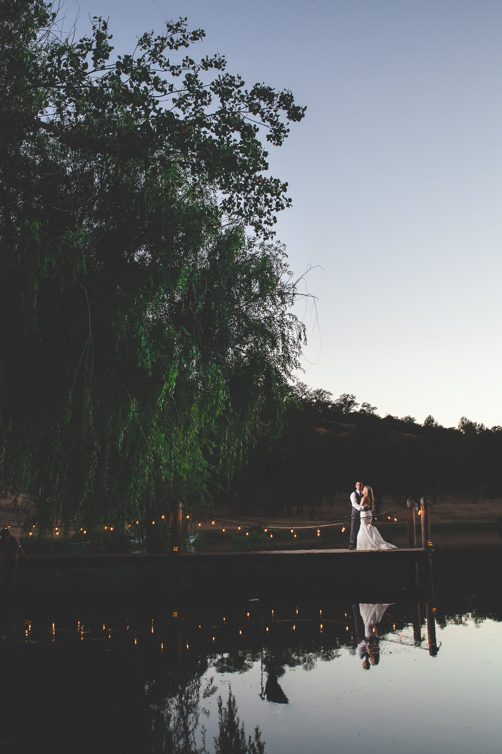 modesto lake wedding