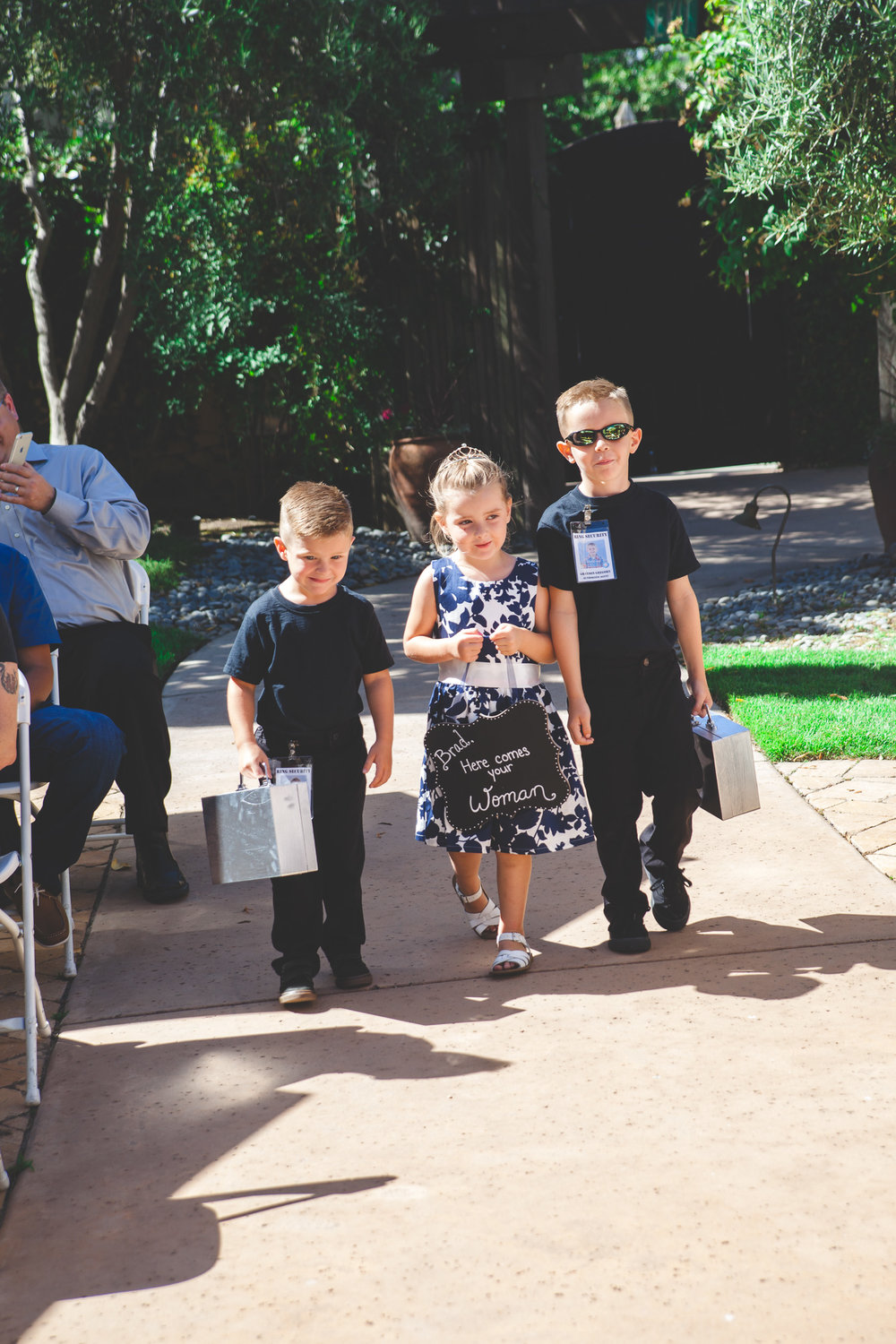 ring bearers security
