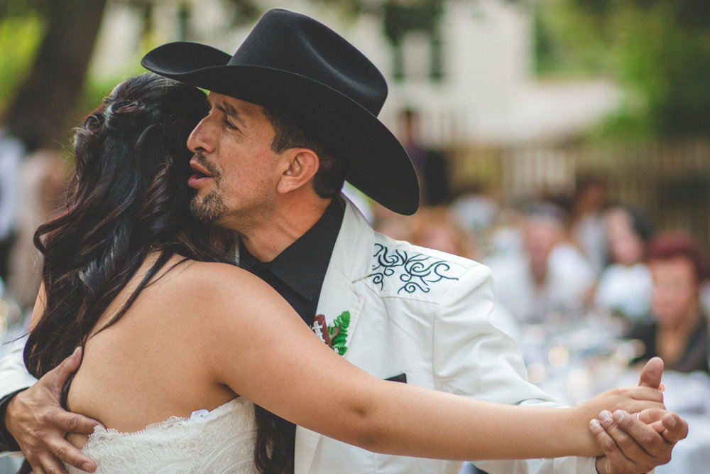 cowboy wedding photographer modesto