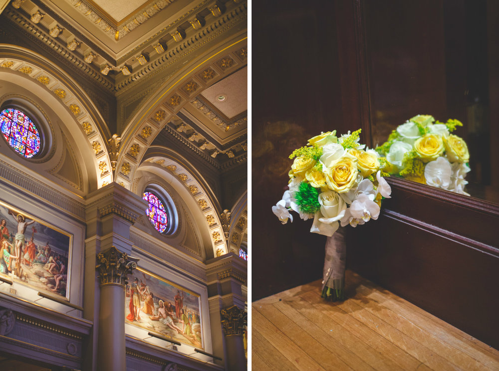 saint ignatius church wedding