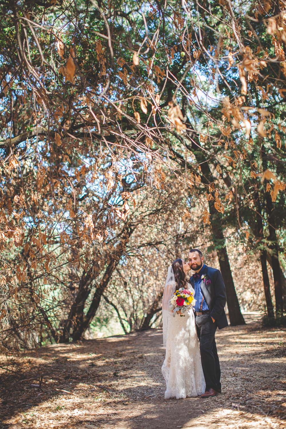 modesto autumn wedding