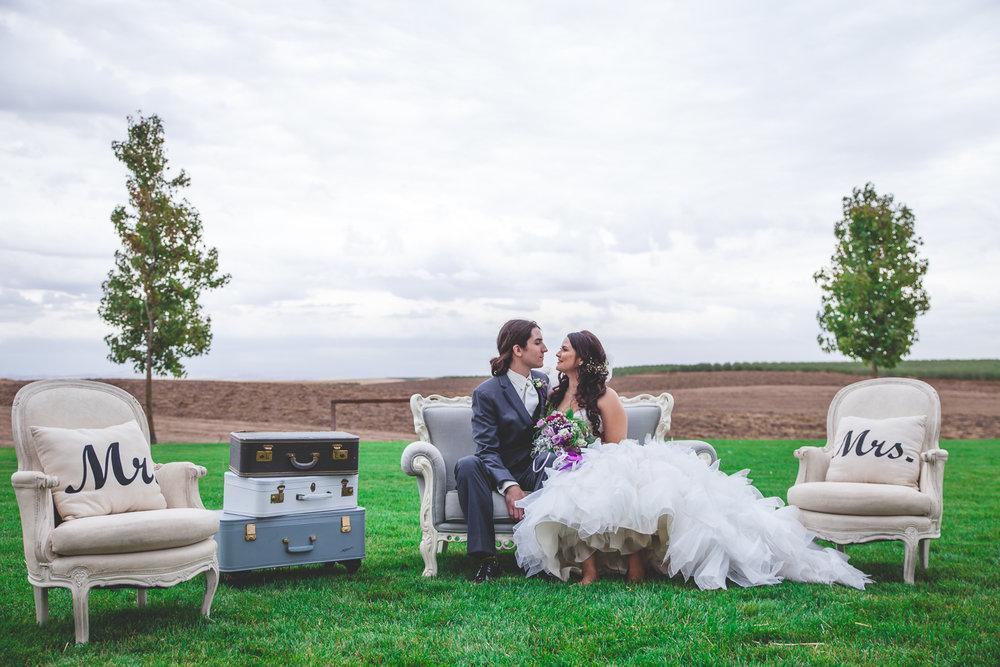 boho wedding modesto