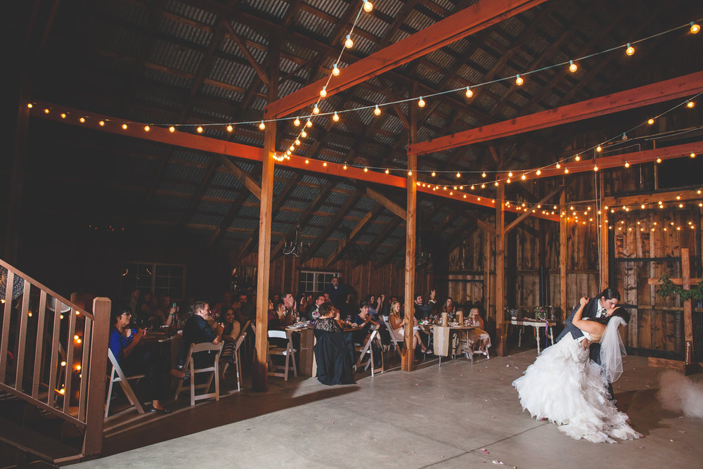 galas barn reception