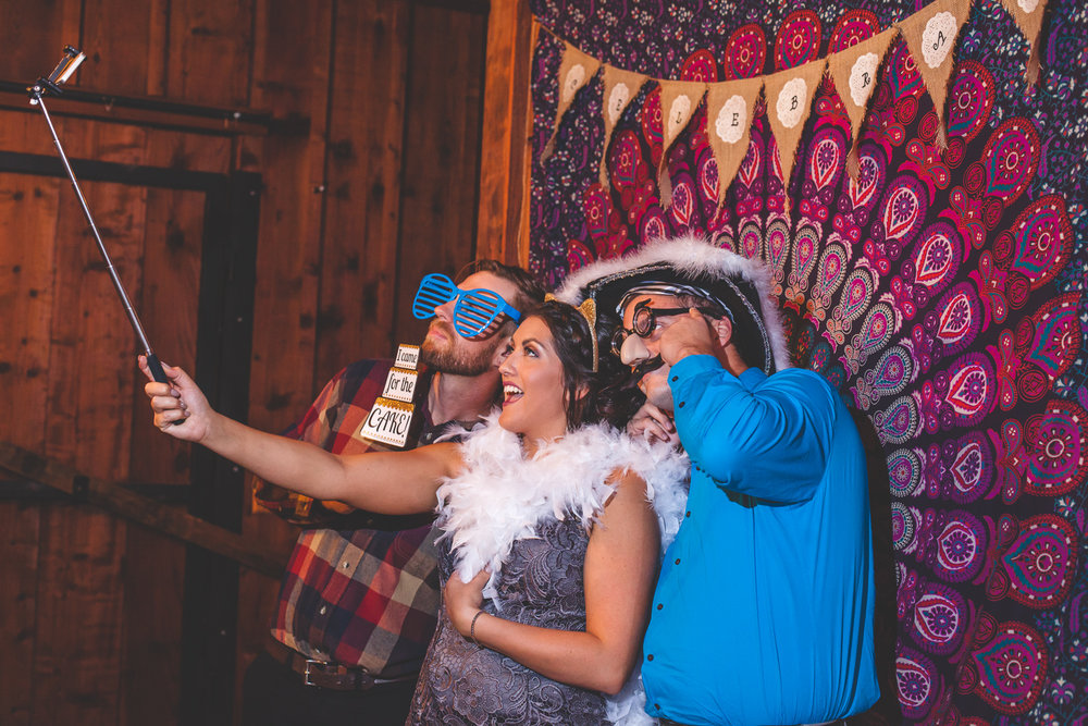 diy photobooth wedding