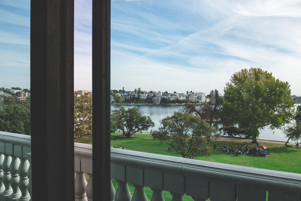 lake merritt wedding view