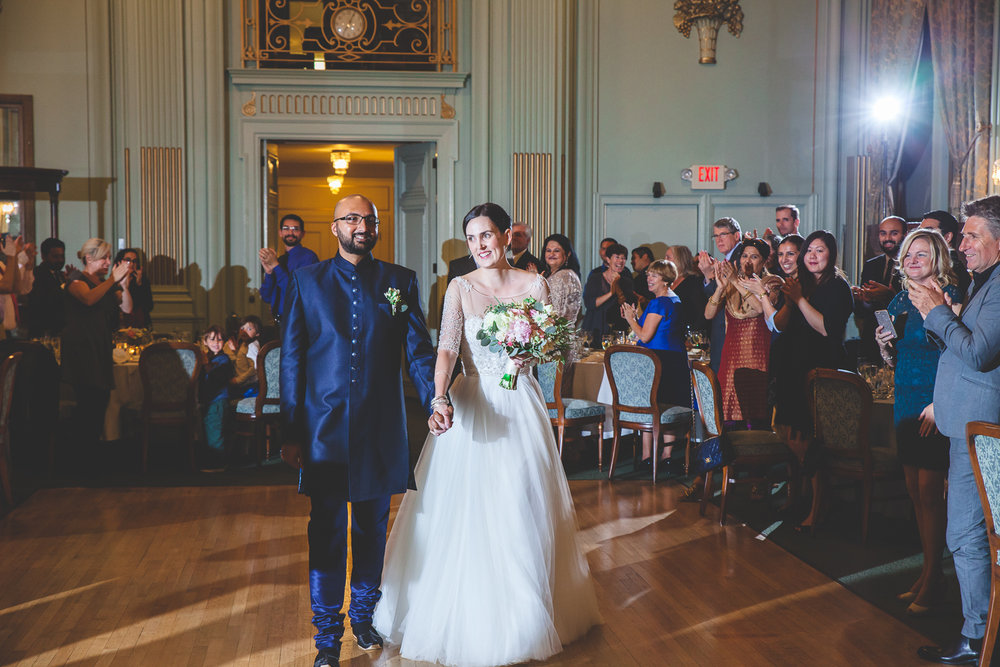 bellevue club wedding reception