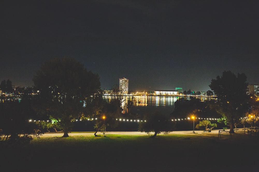 lake merritt night