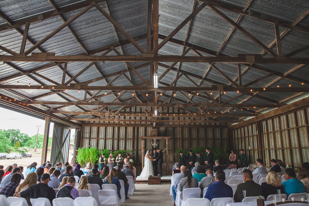 tree nursery wedding