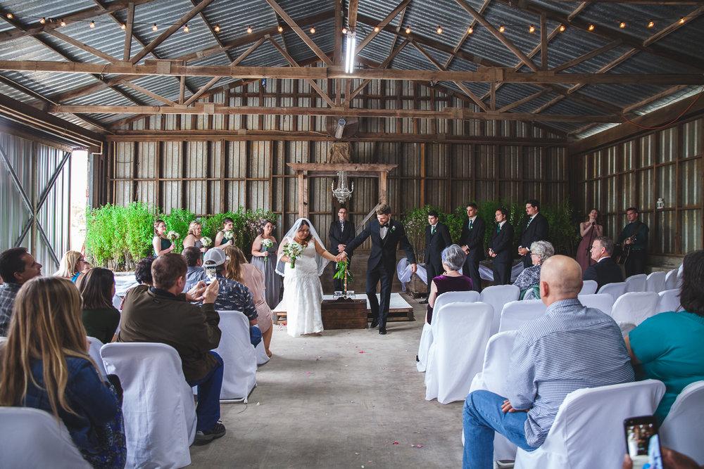 la grange wedding