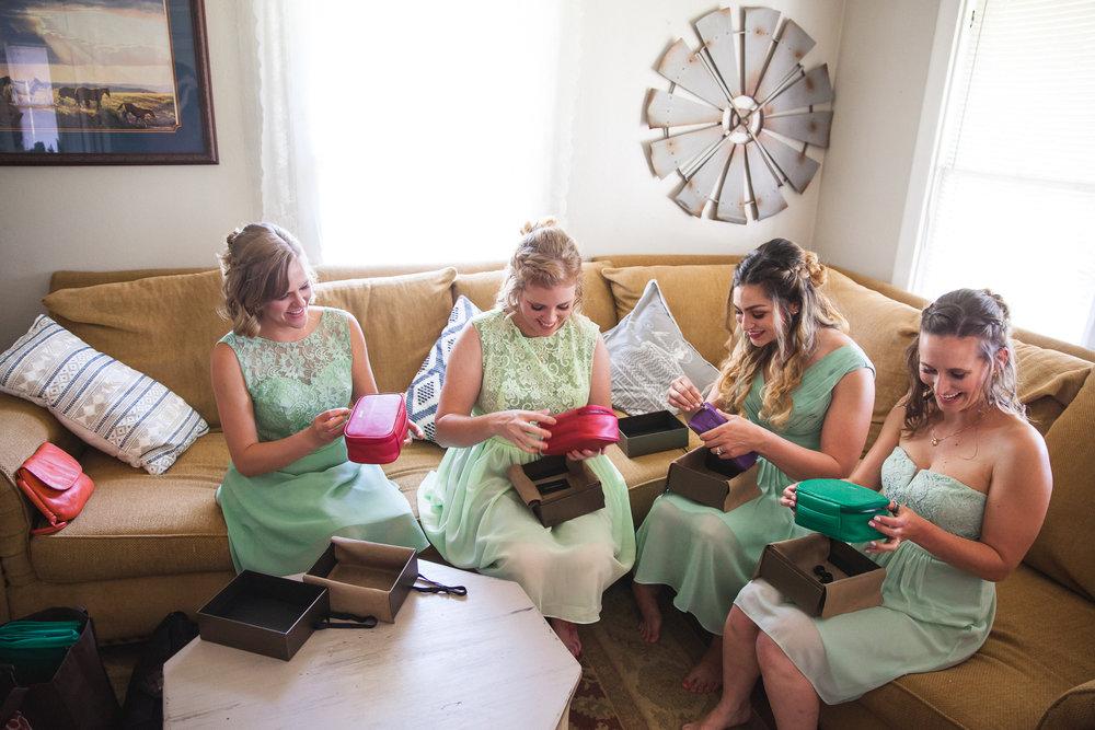 leatherology bridesmaid gift