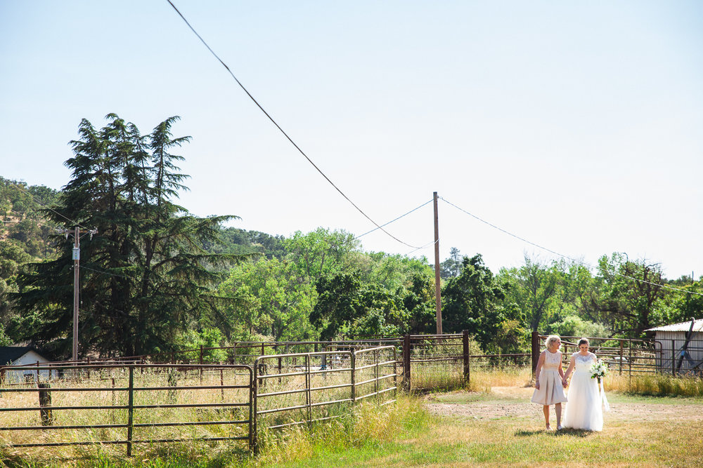 lehman barn wedding ceremony