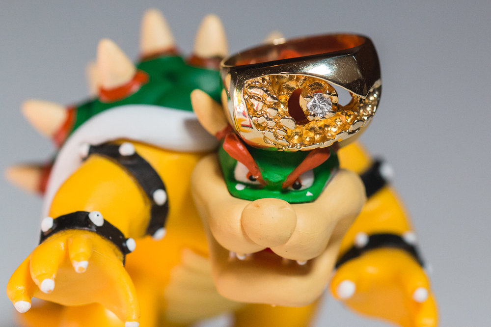 bowser wedding ring