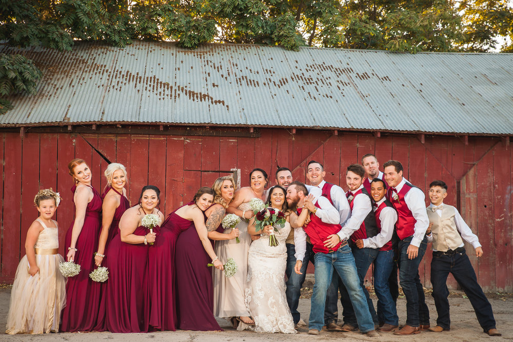country wedding modesto