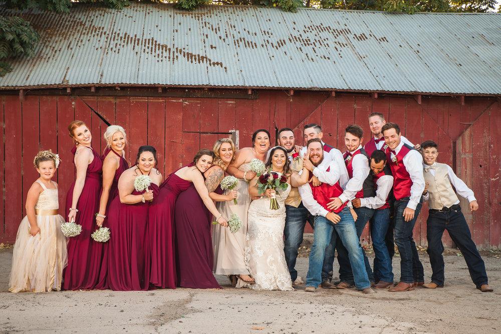 cowboy wedding modesto
