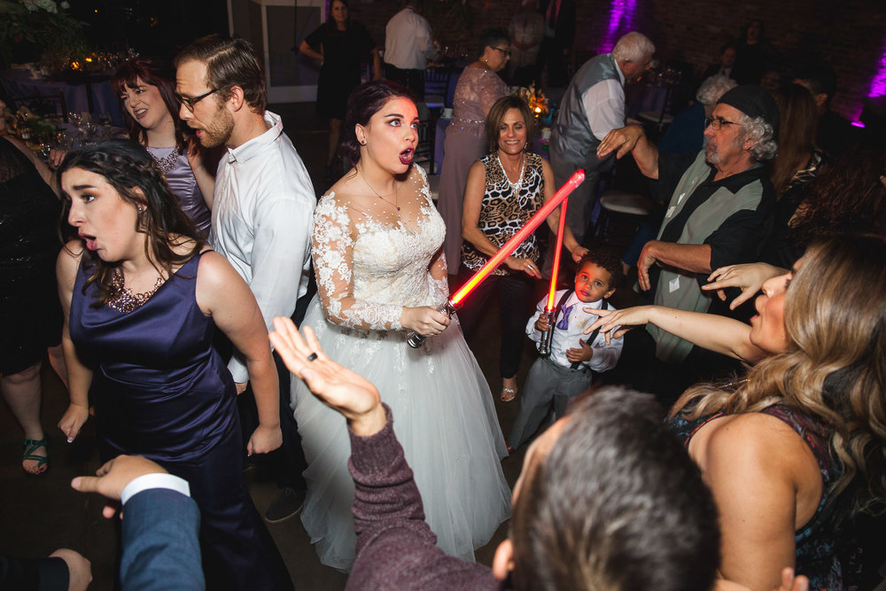 lightsaber wedding