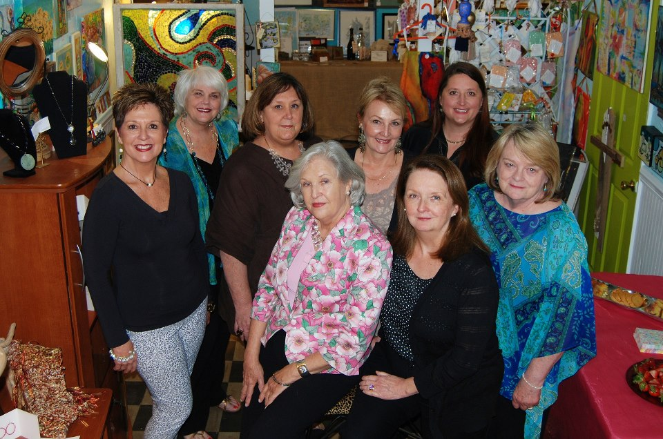 Current Partners Ardith Goodwin, Marsha Sutton, Michelle Foreman Leech, Gail Rancier Wilson, Claire Noojin, Maria Robinson, Susan Wertelecki, and Phyllis Henson