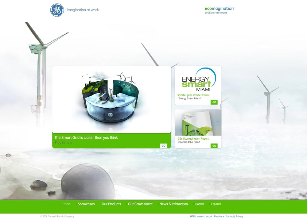 GE ecomagination Digital Strategy & User Experience