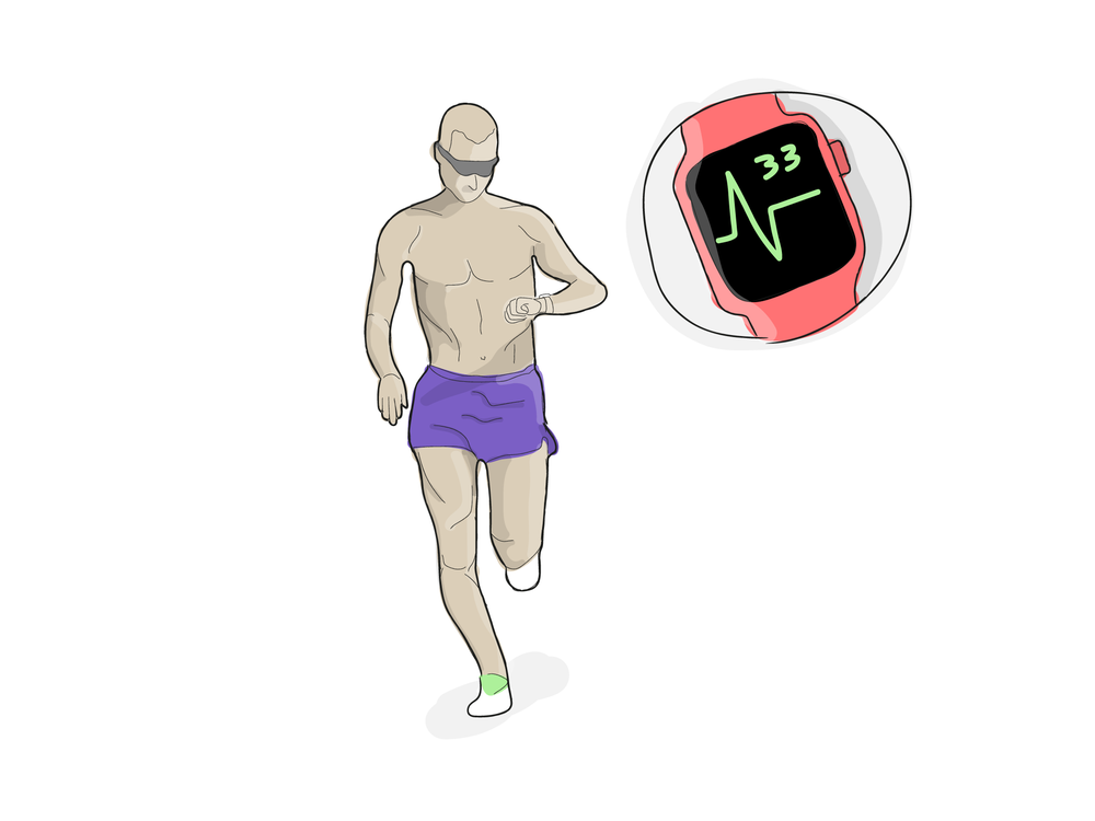 jogging bandit illustration by @alafritz
