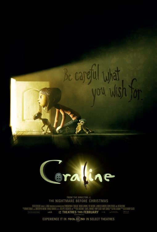 Coraline Henry Selick // USA // 2009