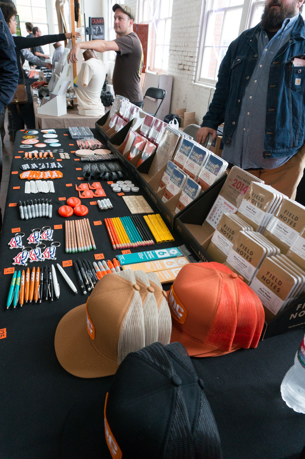 Some of Aaron Draplin's designs.