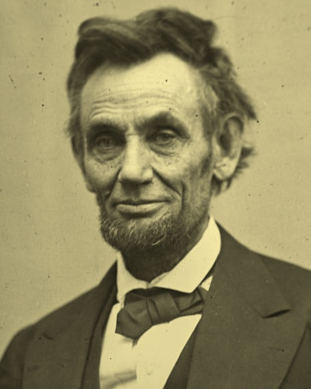 16th President of the United States, Abraham Lincoln. Lincoln was assassinated in 1865, a little over two years after signing the Emancipation Proclamation and just five days after navigating a way for General Robert E. Lee's Confederate forces to surrender, bringing an effective end to the active conflict of the US Civil War.