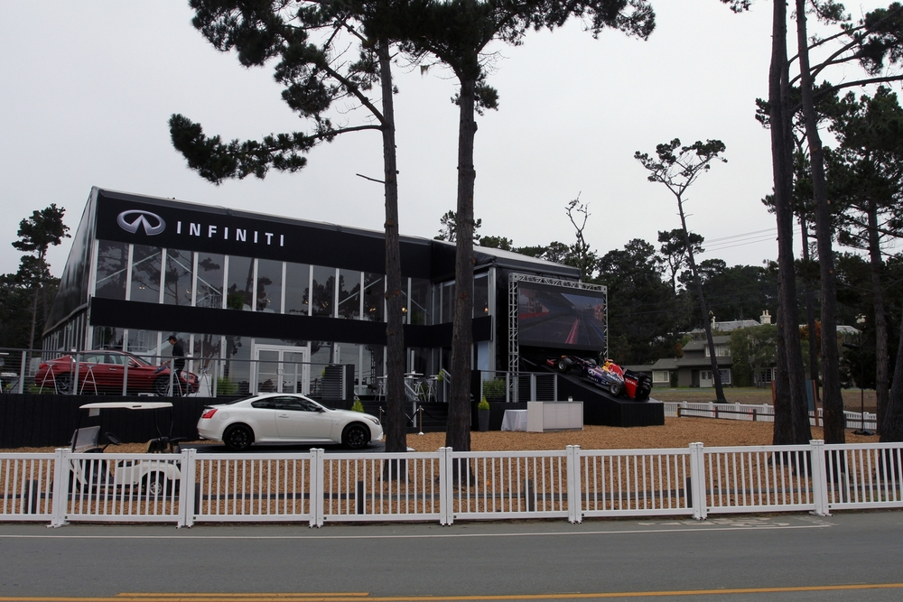 Welcome to the Infiniti Performance Pavillion