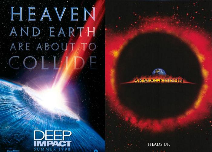 Deep Impact, Armageddon (1998)