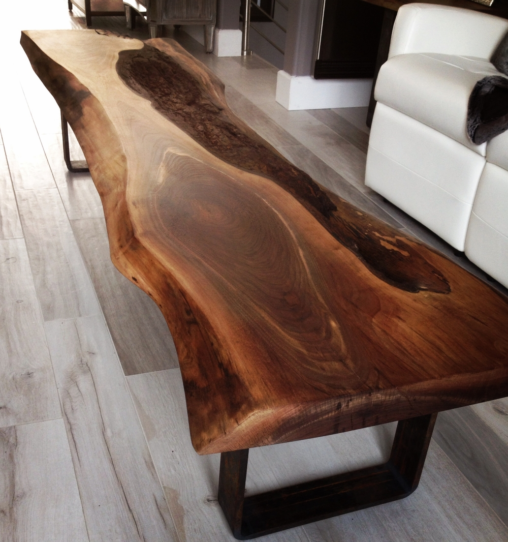 meubles bois design live edge custom made tables. Black Bedroom Furniture Sets. Home Design Ideas