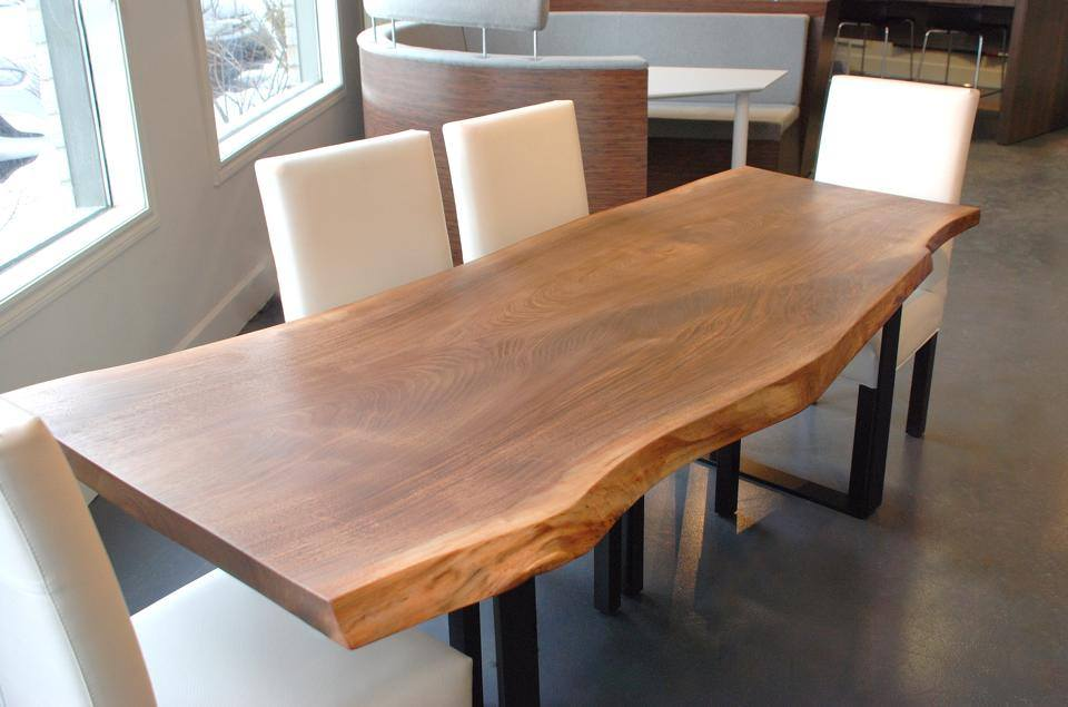 Tables live edge sur mesure bois design live edge - Table en bois design ...