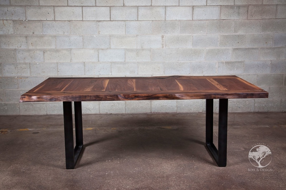Each piece is different — Bois & Design  Live edge custom made tables