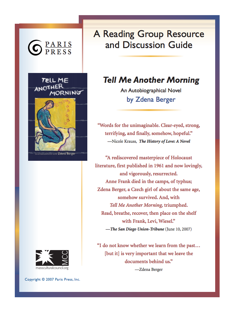 Download Reading Group Resource and Discussion Guide (PDF 3.89 MB)