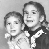 Deborah Bull and her sister, Sisters: An Anthology