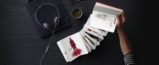 Book, a collaboration between FiftyThree's Paper and Moleskine