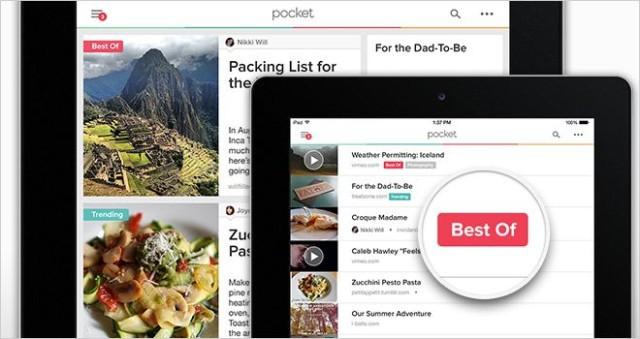 Pocket 5.0 app