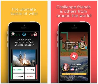 QuizUp trivia app