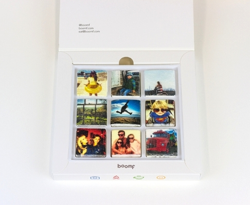 Boomf - Instagram pictures printed on marshmallows