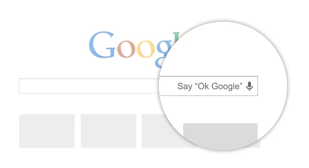Google voice search extension for the Google Chrome browser